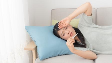 風邪で高熱が出た時の対処法