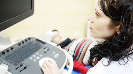 超音波検査で前置胎盤が発覚