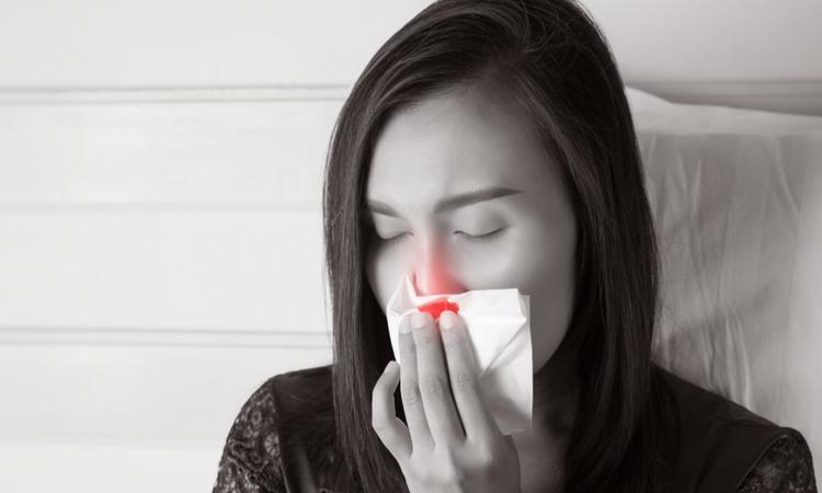 妊娠中に鼻血が出た体験談