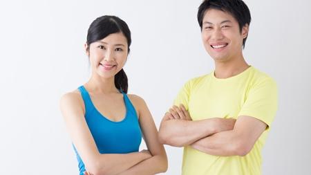 パートナーと一緒に適度な運動を
