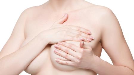 母乳のための胸マッサージ