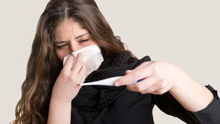 寒気とともに高熱が出た場合