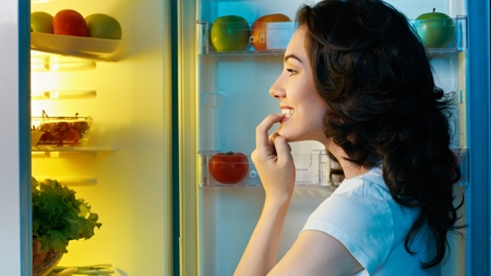 生理前後の食欲の変化