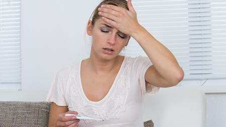妊娠初期に熱、高熱が出た場合の対策