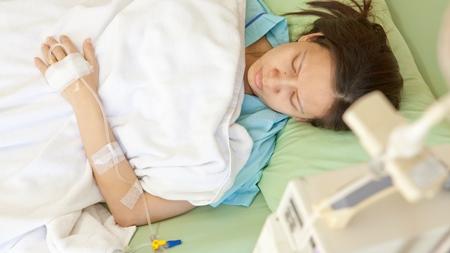 夜中に出血 切迫流産の診断で入院