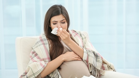 夜になると止まらない咳が出産直前まで続いた