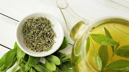 緑茶を使う