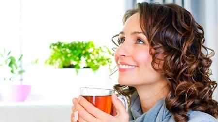 麦茶などのノンカフェイン飲料