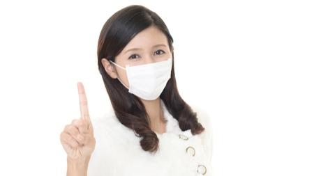 マスクで喉の渇きを軽減