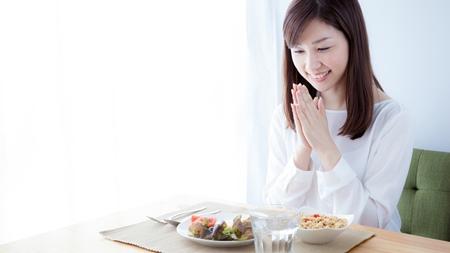 食事はゆっくり食べる
