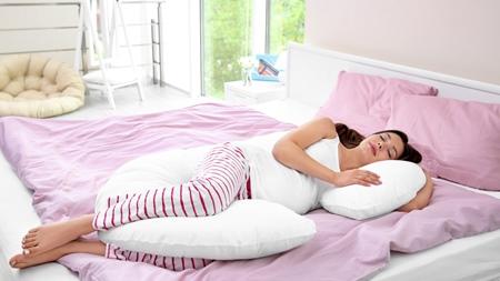 妊婦さんにお勧めの寝方