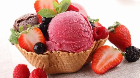 アイスの食べ方のポイント