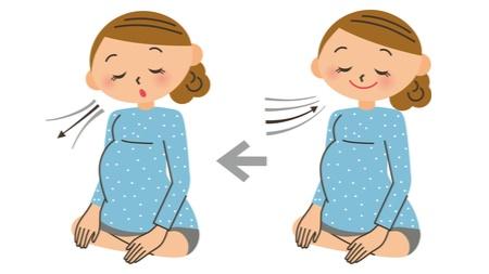 呼吸法を練習する