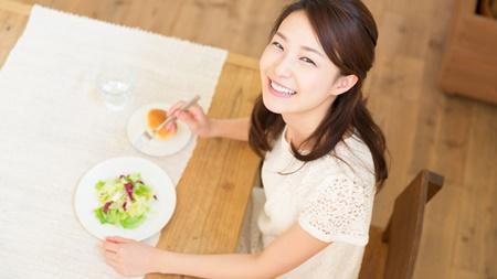 栄養バランスの取れた食事を心がける