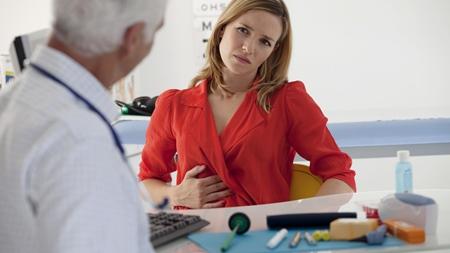 下腹部の違和感で内科に・・「おめでたですね」