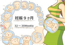 妊娠9ヶ月