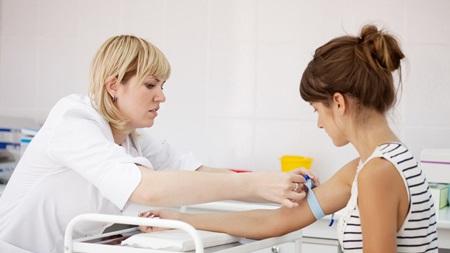 血液の検査