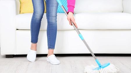 床掃除はこまめに