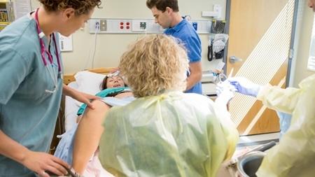 陣痛と分娩の進行について