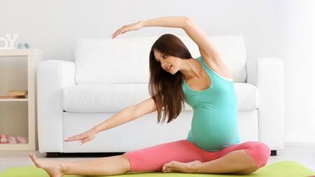 妊婦体操やストレッチ