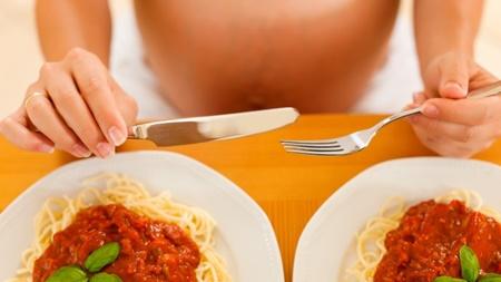 食べ過ぎに注意