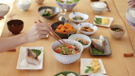 食事をしっかりとり、栄養はバランスよく