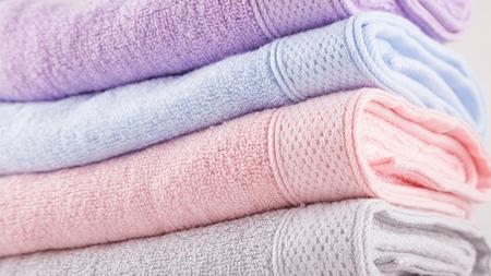 タオルは別々に使用する