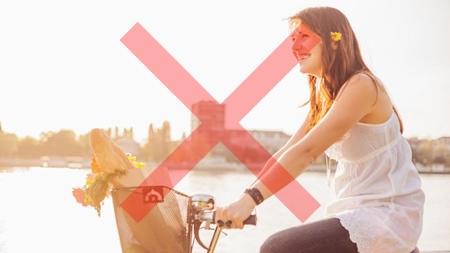 妊婦は自転車に乗ってはいけないという意見