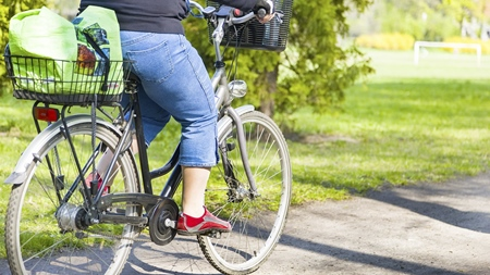妊娠初期に自転車に乗るリスク