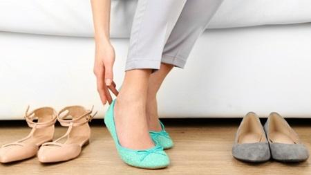 妊娠初期の靴
