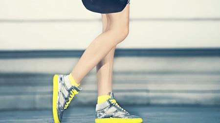 よく歩く方はスニーカー(妊娠初期の靴)