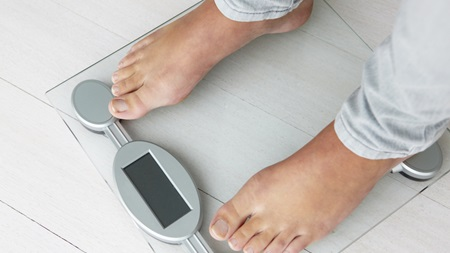 自己判断で体重の激減