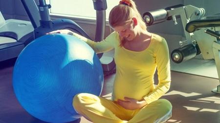 出産に向けた体力づくりを