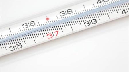 体温が37度以上になる日が増える